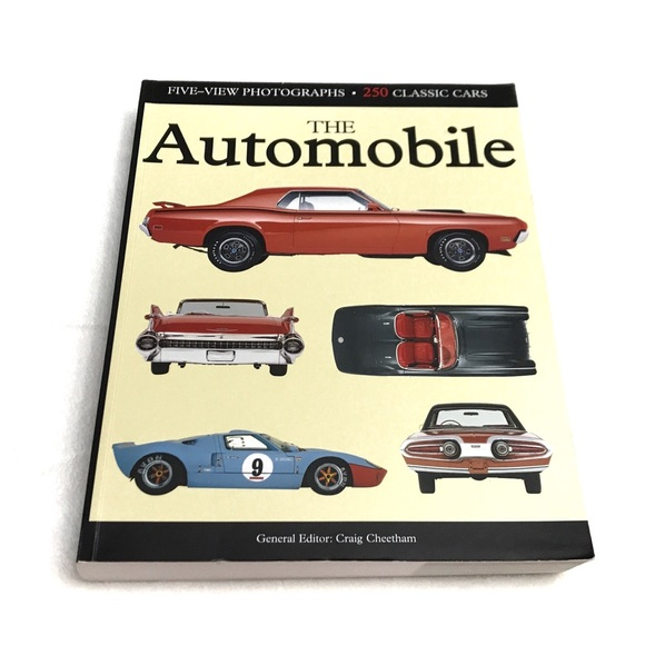 """The Automobile Photographs 250 Classic Cars"" Book"